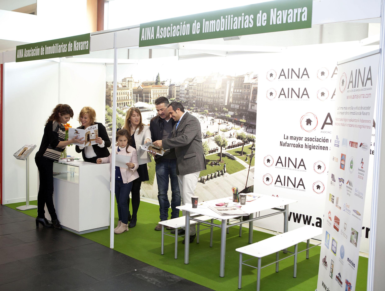 Stand de Aina en la Feria Inmobiliaria de Navarra