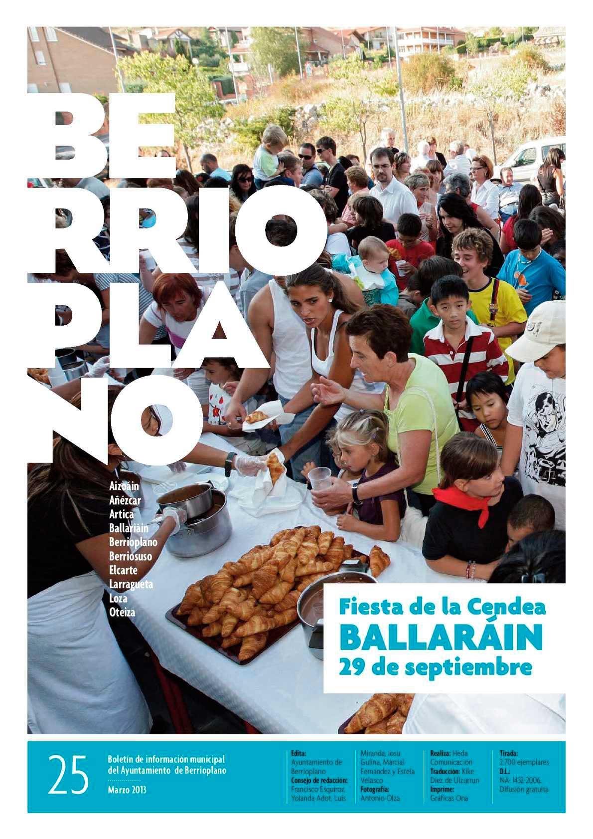 Boletín de información Municipal del Ayuntamiento de Berrioplano