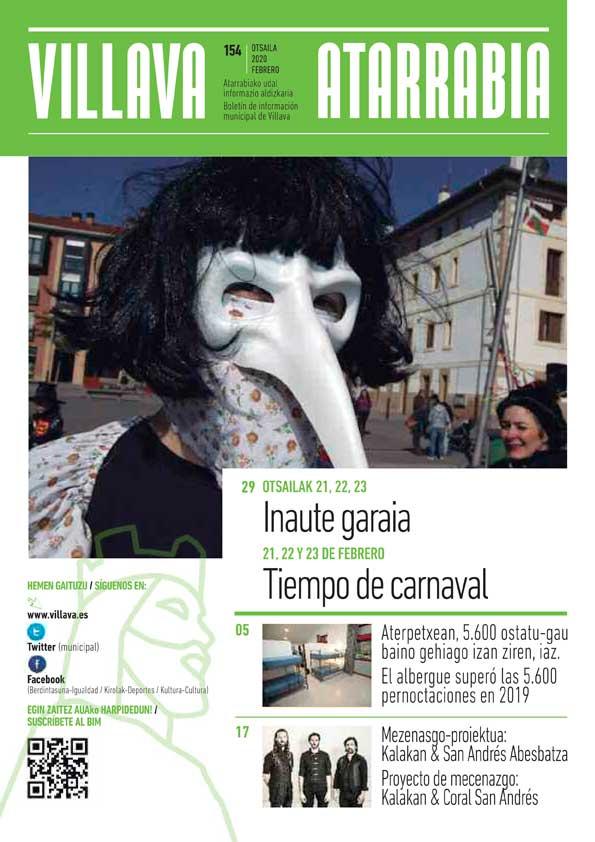 Boletín de información municipal del Ayuntamiento de Villava