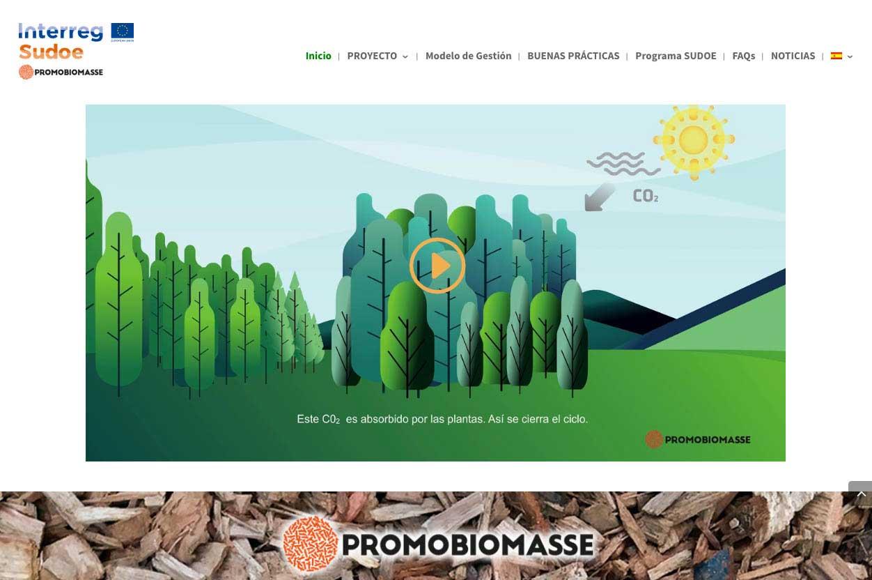 Web Promobiomasse.eu